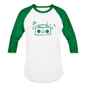 Radio Men's Baseball T-Shirt - Baseball T-Shirt
