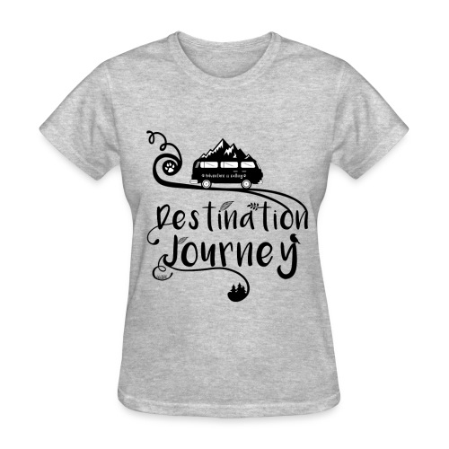 Camping - Destination Journey - Women's T-Shirt