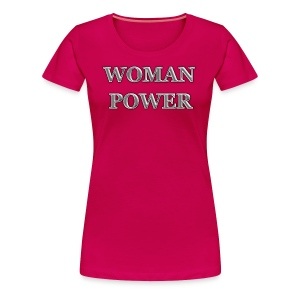 woman power - Women's Premium T-Shirt