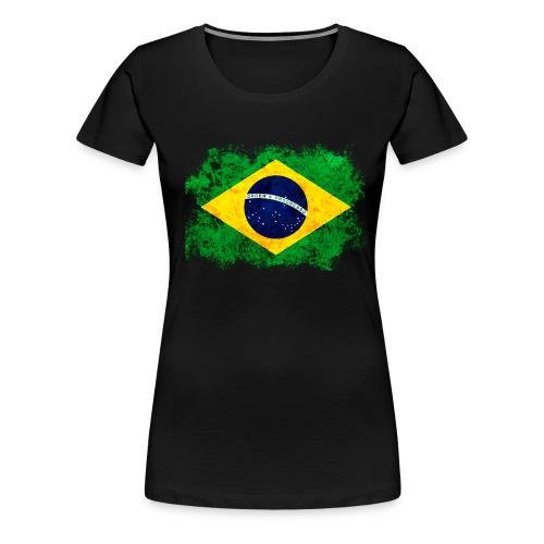 I Love Brazil - Women's Premium T-Shirt