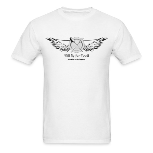 Will Fly for Food! - Men's T-Shirt