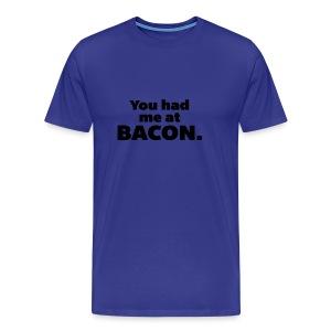 bacon - Men's Premium T-Shirt