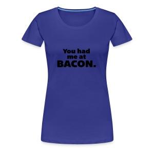 bacon women - Women's Premium T-Shirt