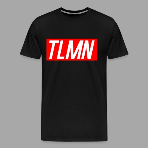 Men's Premium TLMN Red T-Shirt - Men's Premium T-Shirt