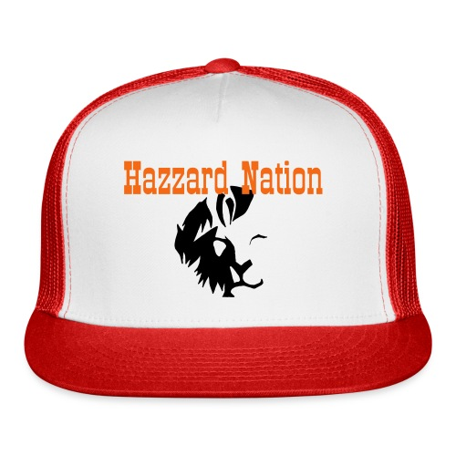 Hazzard Nation is like a lion - Trucker Cap