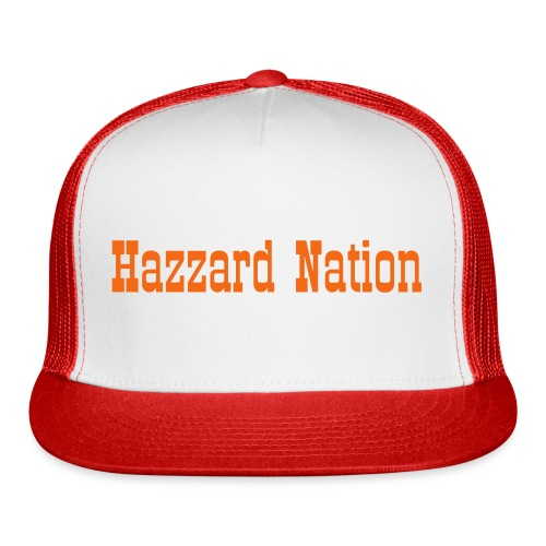 Plain Hazzard Nation - Trucker Cap