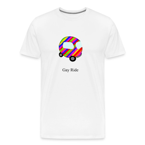 Gay (P)Ride T-Shirt - Men's Premium T-Shirt
