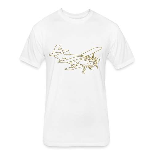 Biplane - Fitted Cotton/Poly T-Shirt by Next Level