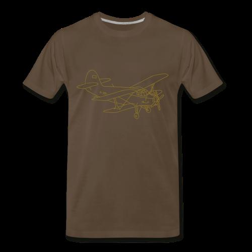 Biplane - Men's Premium T-Shirt