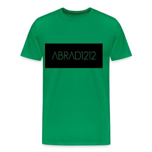 Green abrad Logo Tee-Shirt For Men - Men's Premium T-Shirt