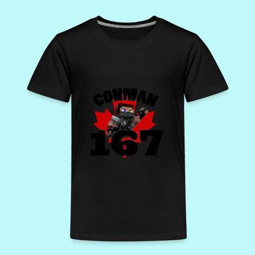 Conman Toddle's T-Shirt - Toddler Premium T-Shirt