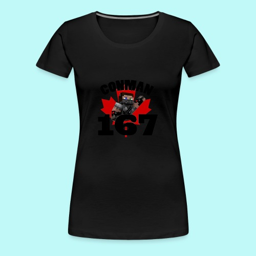 Conman Womans T-Shirt - Women's Premium T-Shirt