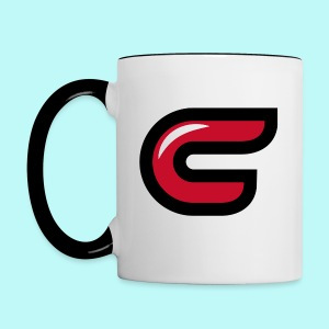 Conman C Logo Colored Mug - Contrast Coffee Mug