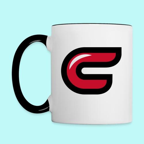 Conman C Logo Colored Mug - Contrast Coffee Mug