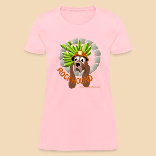Rockhound women's pink T shirt - Women's T-Shirt