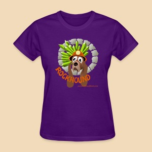 Rockhound women's purple T shirt - Women's T-Shirt