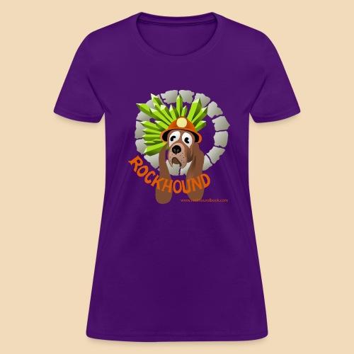 Rockhound women's purple T shirt - Women's T-Shirt