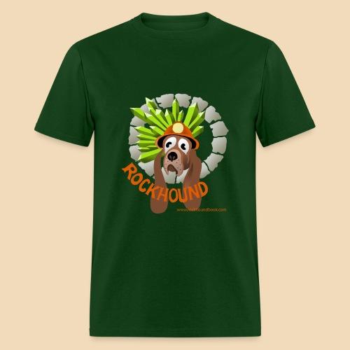 Rockhound mens hunter green T shirt - Men's T-Shirt