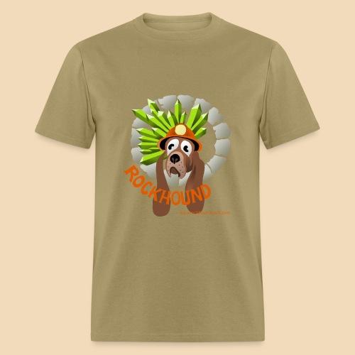 Rockhound mens kaki T shirt - Men's T-Shirt