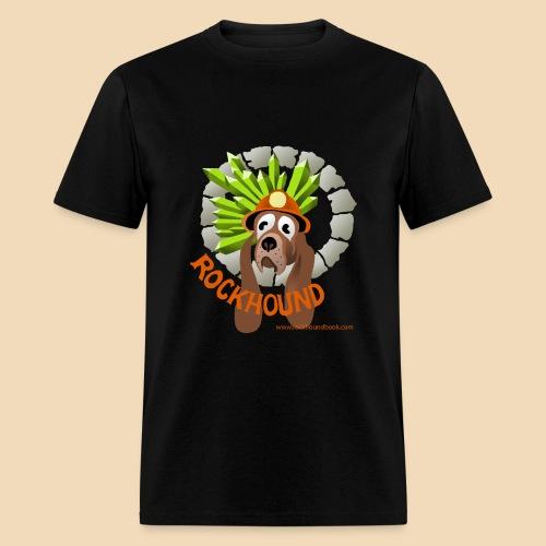 Rockhound mens black T shirt - Men's T-Shirt