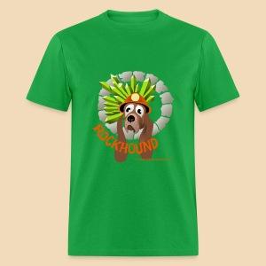 Rockhound mens light green T shirt - Men's T-Shirt