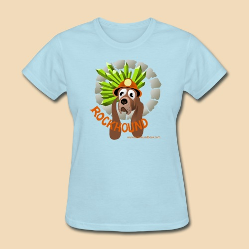 Rockhound woman's light blue T shirt - Women's T-Shirt