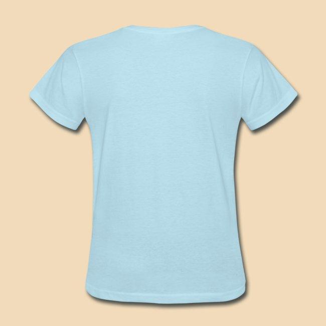 Rockhound woman's light blue T shirt