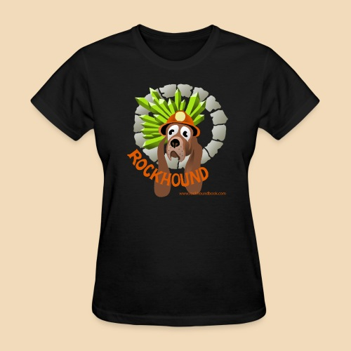 Rockhound women's black T shirt - Women's T-Shirt