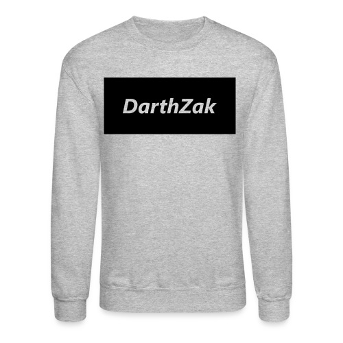 DarthZakshirt logo Long Sleeve Shirts - Crewneck Sweatshirt
