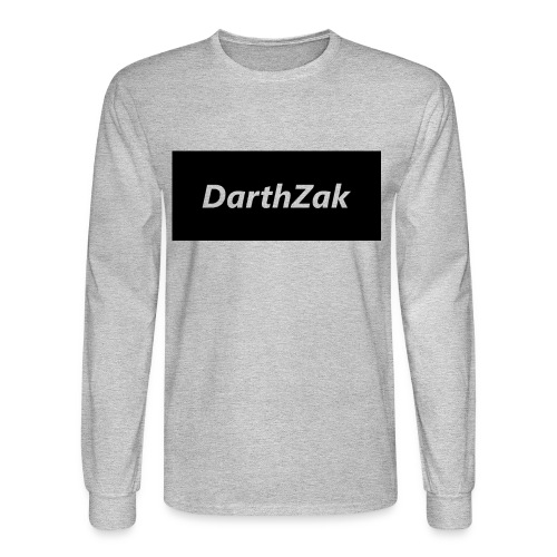 DarthZakshirt logo Long Sleeve Shirts - Men's Long Sleeve T-Shirt
