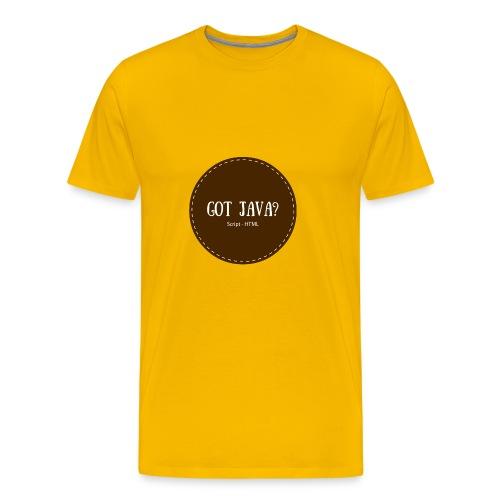 Got Java? - Men's Premium T-Shirt