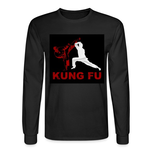 Men's Long Sleeve Kung Fu Tee - Men's Long Sleeve T-Shirt