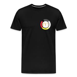 Mazacoin Small Logo tee  - Men's Premium T-Shirt