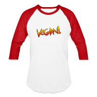 T-Shirts ~ Baseball T-Shirt ~ Vegan Hot Rod - Unisex Baseball T-shirt