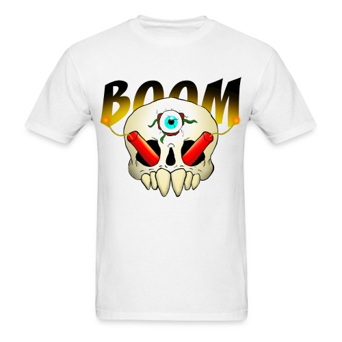 Skull Boom - Men's T-Shirt