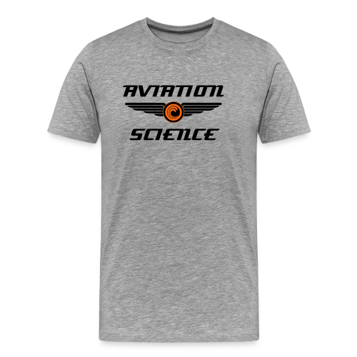 Retro Aviation Science T-Shirt - Men's Premium T-Shirt