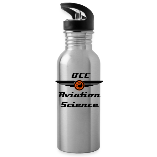 Aviation Science Aluminum Water Bottle - Water Bottle