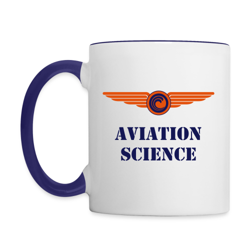 Aviation Science Coffee Mug - Contrast Coffee Mug