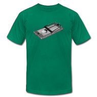 T-Shirts ~ Men's T-Shirt by American Apparel ~ Smart Phones, Stupid People