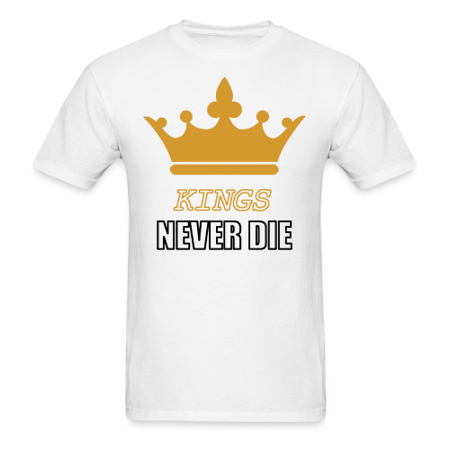 Kings never die - Men's T-Shirt