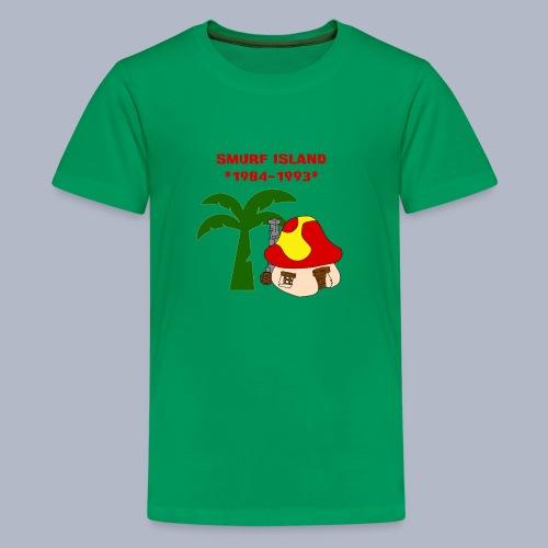 Smurf Island T-Shirt Kids - Kids' Premium T-Shirt
