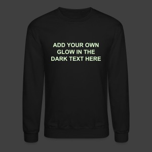Make Your Own Glow in the Dark Sweatshirt - Crewneck Sweatshirt