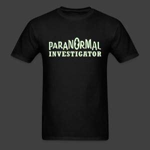 Men's Paranormal Investigator Glow in the Dark Shirt - Men's T-Shirt