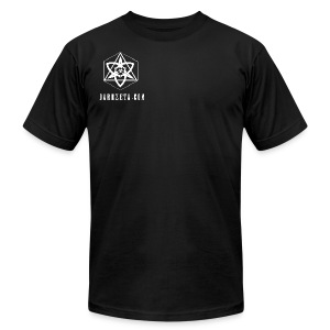 The Trinity of creation (T-Shirt AA)(Black) - Men's T-Shirt by American Apparel