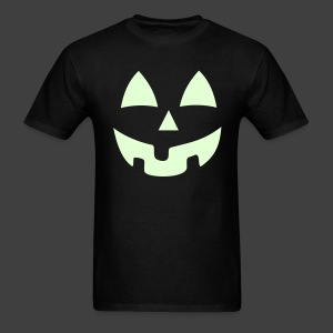 Jack O Lantern Pumpkin Glow in the Dark Hoodie - Men's T-Shirt