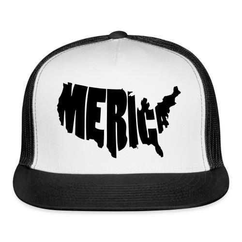 'Merica Hat - Trucker Cap