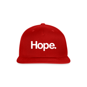 Hope. Snapback - Snap-back Baseball Cap