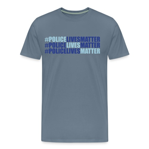 Police Lives Matter T-Shirt Mens - Men's Premium T-Shirt