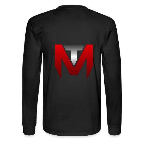 Make Call of Duty Great Again Long T-Shirt White Logo Bold Back Logo - Men's Long Sleeve T-Shirt