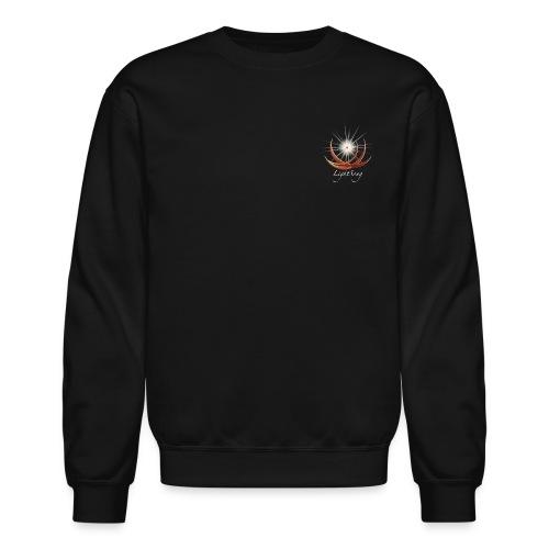 LightSong High Frequency Unisex Crew Sweatshirt - Crewneck Sweatshirt